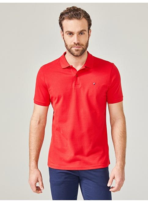 MCL Polo Yaka Tişört Kırmızı